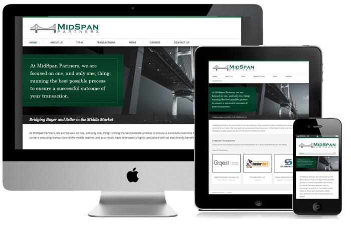 MidSpan Portfolio Website