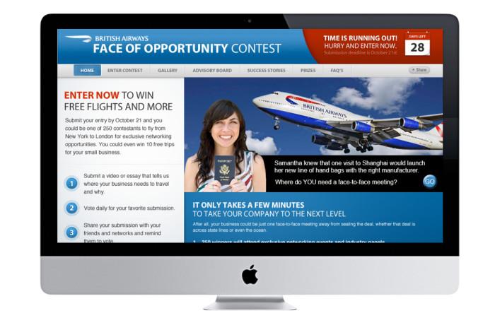 British Airways Portfolio Website