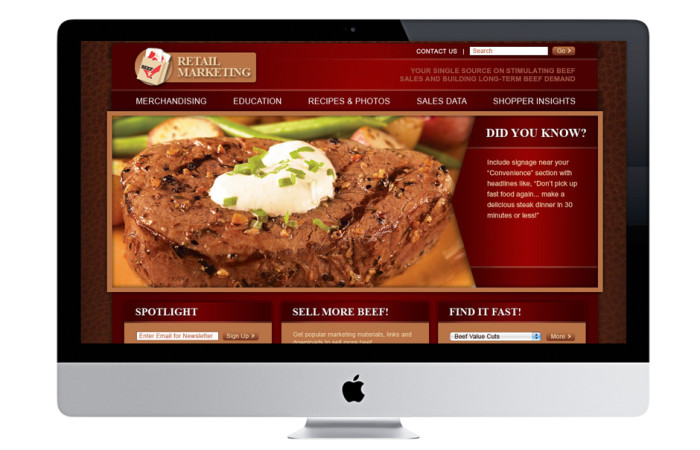 Beef Association Portfolio Website