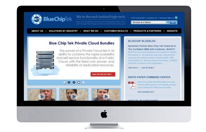 BlueChip Portfolio Website