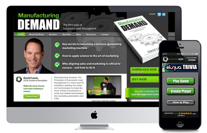 DemandGen Portfolio Website