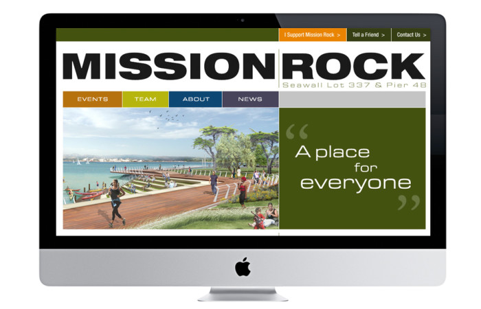 Mission Rock Portfolio Website